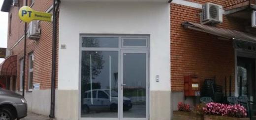 Il nuovo ufficio postale in via Bignardi