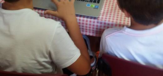 bambini computer web