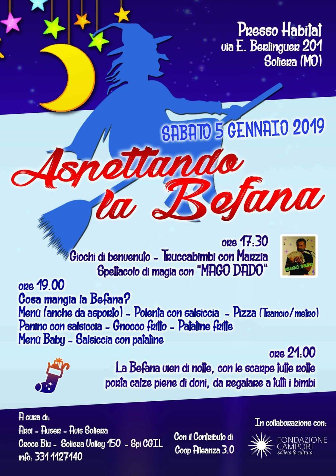 Soliera Sabato 5 Gennaio Aspettando La Befana Sulpanaro News