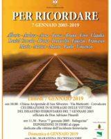 Incidente ferroviario di Crevalcore, domenica 6 e lunedì 7 gennaio la commemorazione