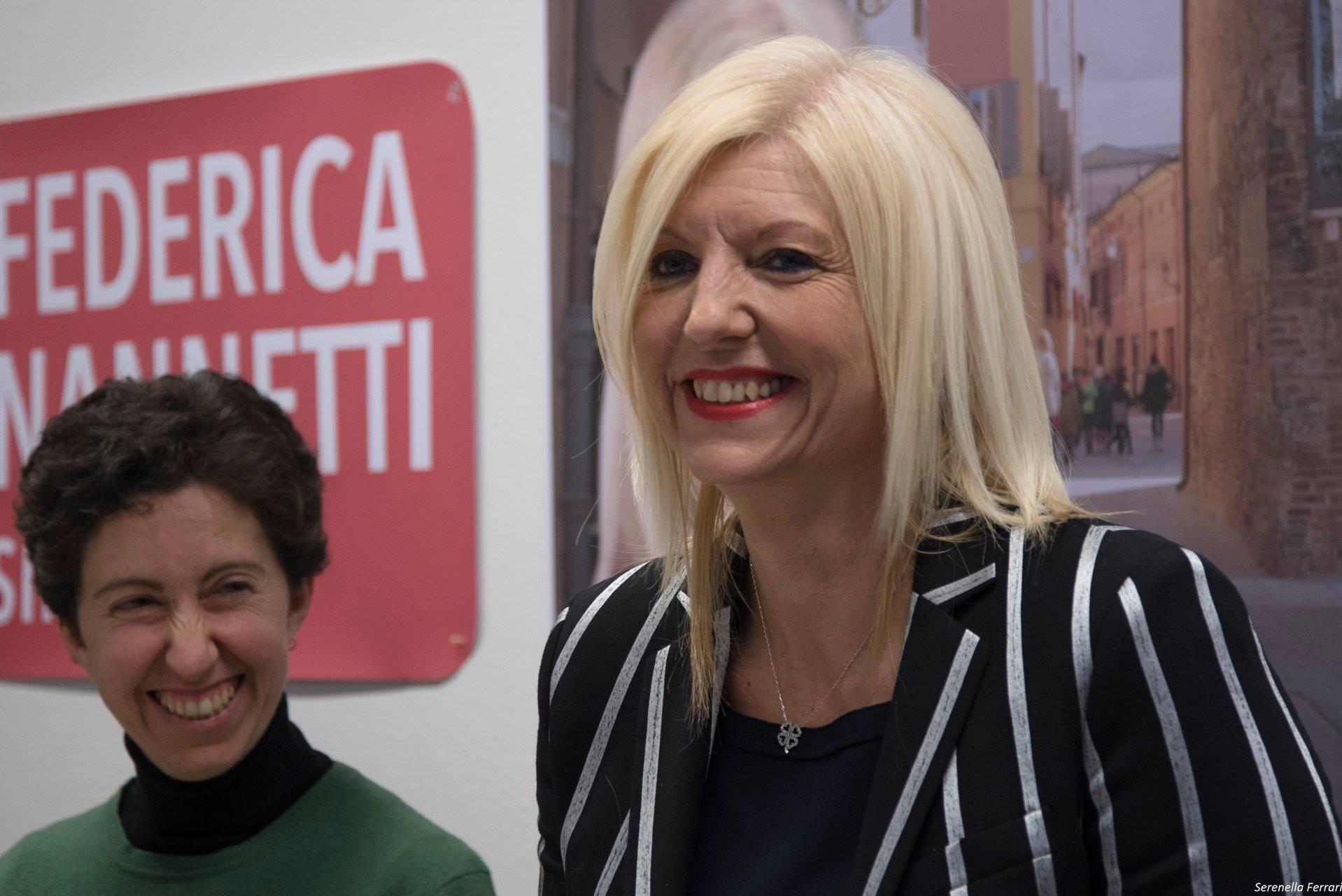 Nonantola, apre la sede elettorale della sindaca Nannetti che cerca il bis