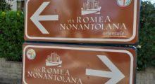 E' iniziata la posa dei cartelli segnaletici della Via Romea Nonantolana