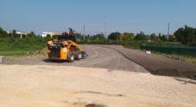 Ripresi i lavori della variante alle curve pericolose sulla sp 468 per Correggio