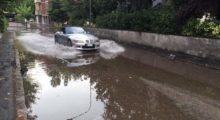 """Il metereologo Bruscagin: """"Scaricati tra i 30 e i 60 mm di acqua in mezz'ora. E la grandine"""""""