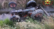 Si ribalta il trattore, muore agricoltore a Cavezzo