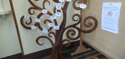 """""""L'albero della gentilezza dei nuovi nati"""" esposto in Comune a Camposanto"""