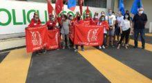 Protesta dei manutentori degli impianti e degli immobili del Policlinico di Modena