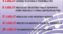 Cavezzo, musica nelle serate estive in piazza Martiri