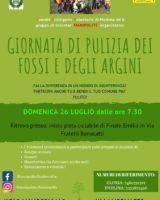 A Finale Emilia domenica giornata di pulizia di fossi e argini