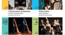 """Giardino Troisi: parte il 16 luglio con """"I Musicanti di Brema"""" la rassegna teatrale estiva a Nonantola"""