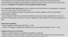 Novi di Modena, 245mila euro per sostenere attività commerciali, artigiani e imprese