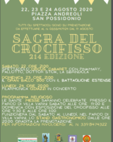 C'è la Sagra del Crocifisso a San Possidonio