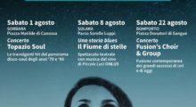Tre appuntamenti estivi con musica e teatro a Bomporto, Solara e Sorbara