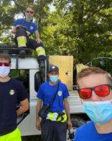 Anche ad agosto volontari Protezione Civile all'opera per avvistamento incendi
