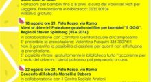 Parte la rassegna degli eventi d'agosto a Camposanto