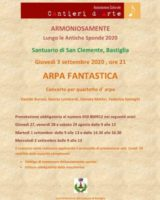 Ultimi due appuntamenti di Armoniosamente 2020 a Bastiglia e a Ravarino