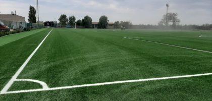 Nel nuovo stadio di Bomporto spazio alle giovanili del Modena