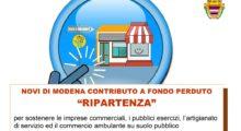 A Novi 250 mila euro per sostenere imprese e attività commerciali