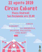 San Possidonio, alla Sagra del Crocefisso Circus Cabaret in piazza Andreoli