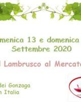 """A Sorbara niente Festa del Lambrusco, quest'anno c'è """"Il Lambrusco al Mercato"""""""
