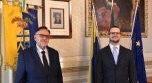 Tomei incontra Tripi, nuovo direttore dell'Ufficio Dogane