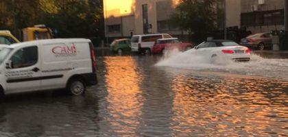 Maltempo, caduti 40 mm di pioggia in mezz'ora. Problemi a Soliera, Finale, Cavezzo, San Prospero e Bomporto