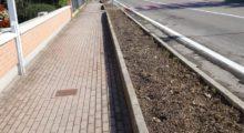 Novi di Modena, manutenzione aiuole strada Provinciale 413
