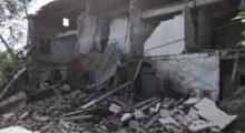 Mirandola, crollati i locali della Curia a Tramuschio