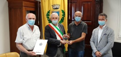 Mirandola premia Renato Maschi, Omero Campi, Otello Gandini, Idalgo Marzolo e i fratelli Morselli