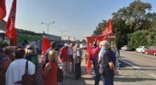 Spi Cgil Modena, solidarietà ai lavoratori della Goldoni di Carpi in presidio