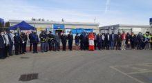 Mirandola, taglio del nastro (con cardinale albanese) per la nuova sede della Polizia Locale Area Nord