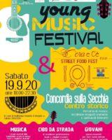 A Concordia sulla Secchia arriva lo Young Music Festival & C'era e c'è Street Food Fest