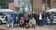 A Medolla e Cavezzo consegnati i nuovi mezzi per anziani e disabili