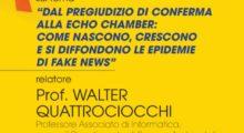 Videoconferenza sulle fake news del 24 settembre