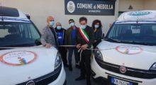 """Medolla, consegnati due automezzi del progetto """"Mobilità garantita"""""""