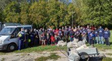 A San Prospero i volontari all'opera per pulire il bosco