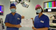 Prestigioso riconoscimento per l'Endoscopia del Ramazzini, fondi per la ricerca sul trattamento delle ulcere
