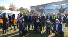 Tra Soliera, Novi e Carpi un nuova ambulanza dedicata alla memoria di Giorgio Grillenzoni