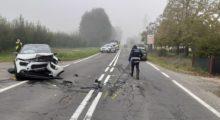 Mirandola, incidente in via Mazzone, feriti ma salvi grazie alle cinture e agli airbag