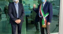 A Mirandola sindaco in visita alla Safe di Giulio Marchetti