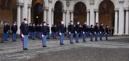 """Accademia Militare, consegnati i gradi agli Allievi Ufficiali più meritevoli del 201°corso """"Esempio"""""""