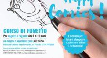 """San Possidonio, alla biblioteca c'è il corso di fumetto """"Happy Comics!"""""""