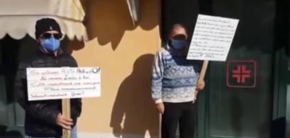 Massa Finalese, pazienti sul piede di guerra: dopo il flashmob pronti a volantinaggi e alla protesta a Modena