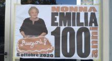 Bomporto, gli auguri del sindaco alla centenaria Emilia Martinelli