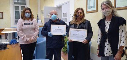 Per i medici di Camposanto una targa di ringraziamento dal Comune