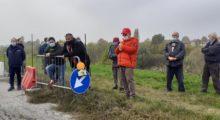 Frana dell'argine del Panaro, la protesta dei finalesi per i mancati lavori: partiranno il 9 novembre