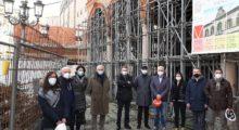 A Mirandola partono i cantieri per il recupero dello storico Municipio in piazza Costituente