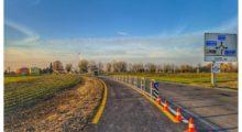 Conclusi i lavori della ciclabile di via Galeazza a San Felice