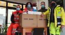 L'azienda Exacta Optek dona 4.000 mascherine alla Croce blu di San Prospero